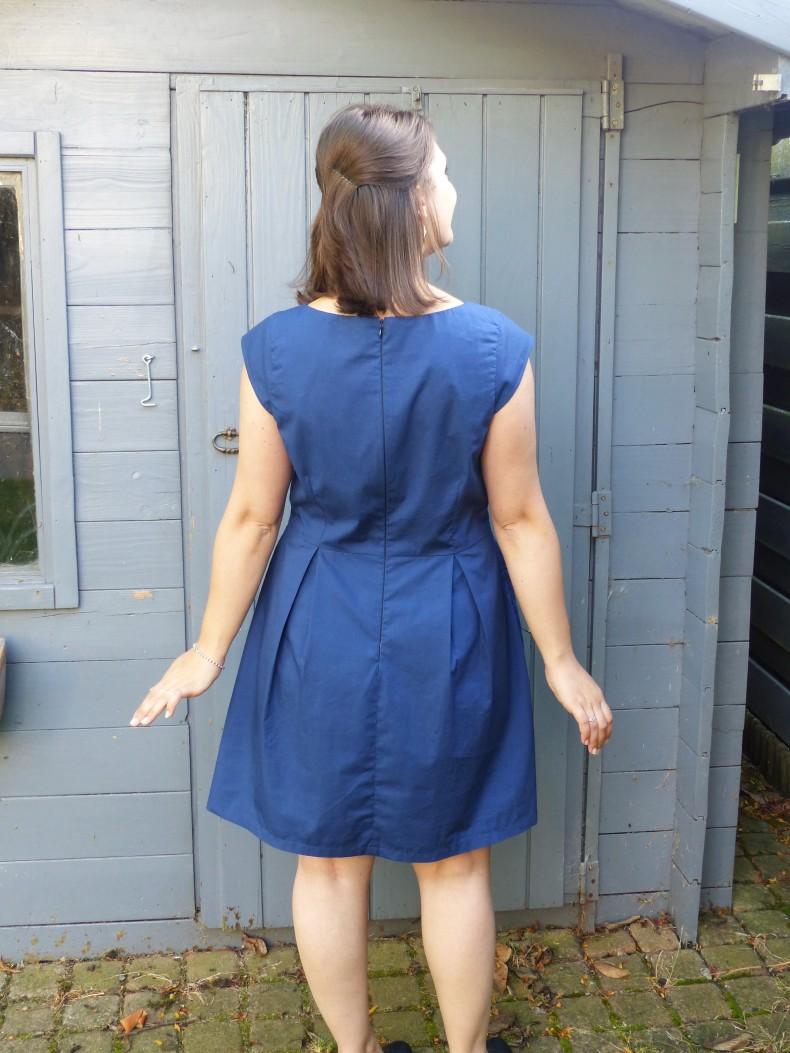 Dos de la robe Agathe