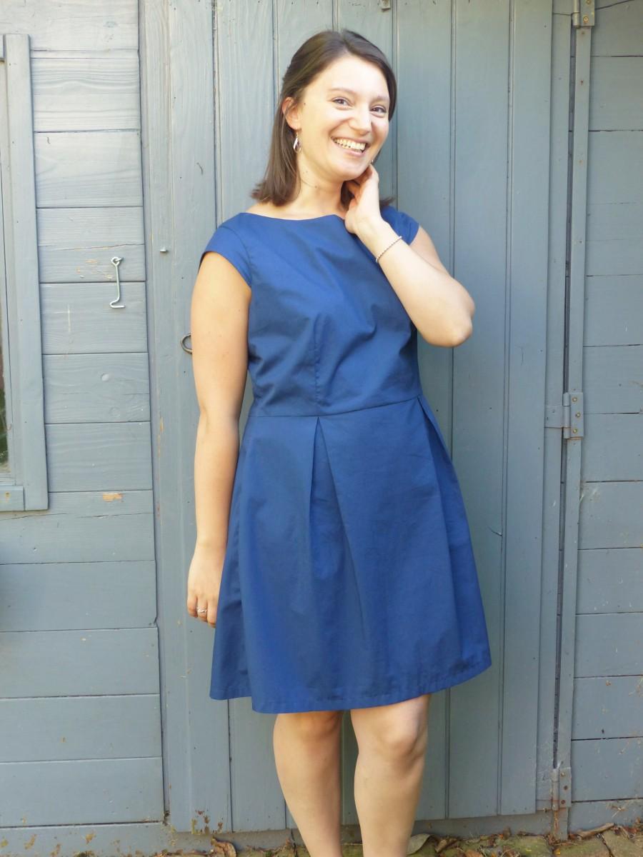 Les plis de la robe Agathe