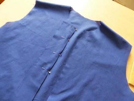 monter patte de boutonnage de chemise maeva