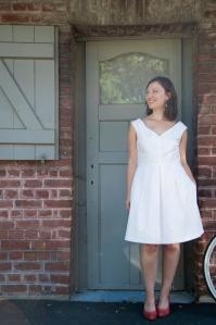 robe de mariee homemade patron vogue