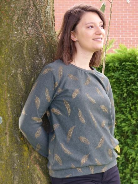 Sweat octobre atelier charlotte auzou ma garde-robe a coudre pour toute l annee