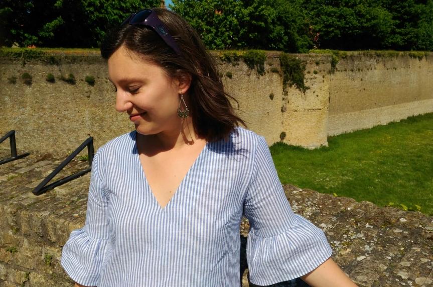 La blouse Almas et sesvolants