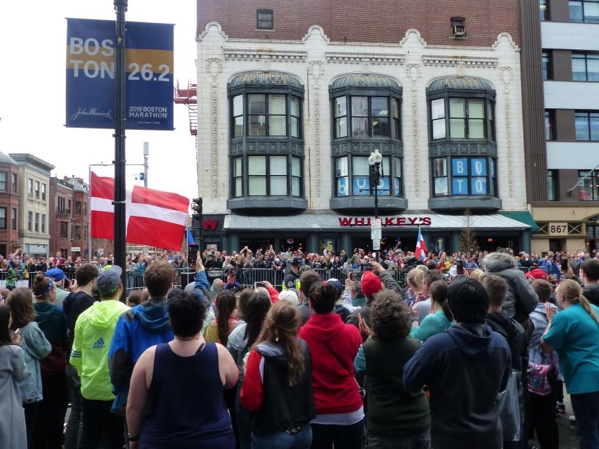 Le marathon deBoston